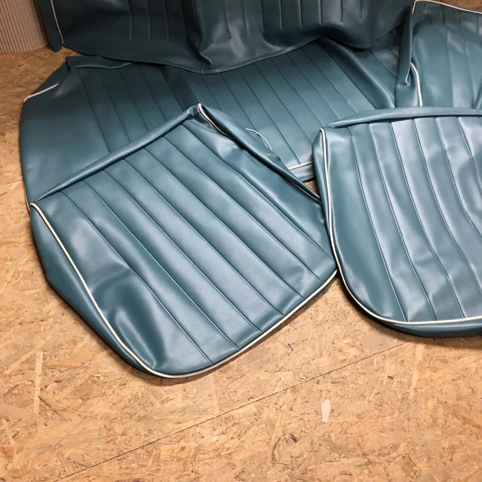 sitzbez ge blau vw k fer fahrer beifahrersitz. Black Bedroom Furniture Sets. Home Design Ideas
